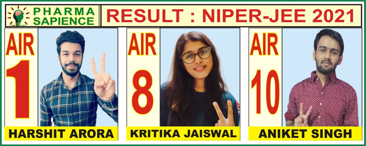 Best Result NIPER-JEE 2021